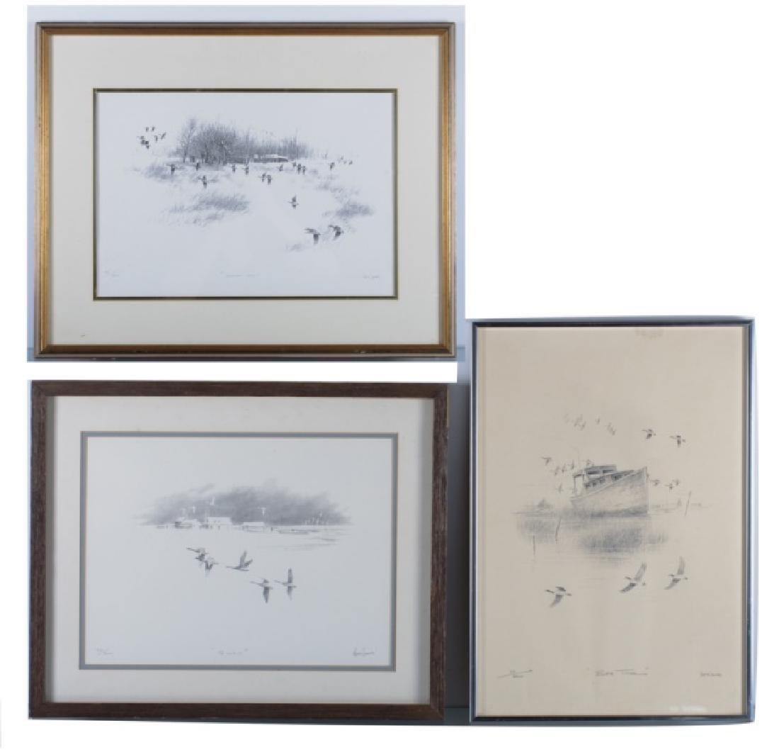 Herb Jones Signed & Numbered Prints Trio