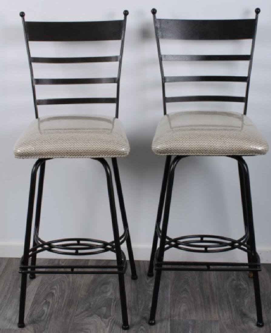 Bistro Table & Chairs Pair Set, Glass Top - 3