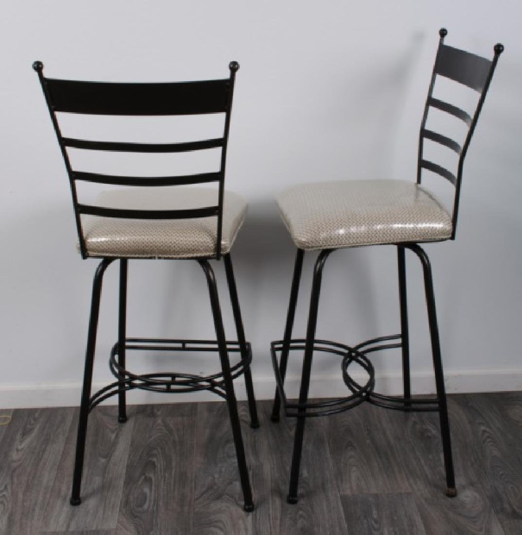 Bistro Table & Chairs Pair Set, Glass Top - 5