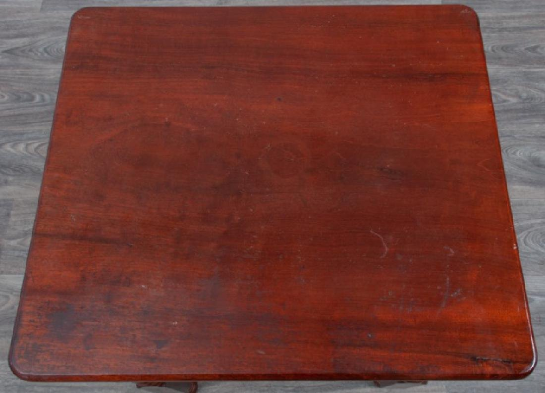 Mahogany Empire Two Drawer Stand - 4