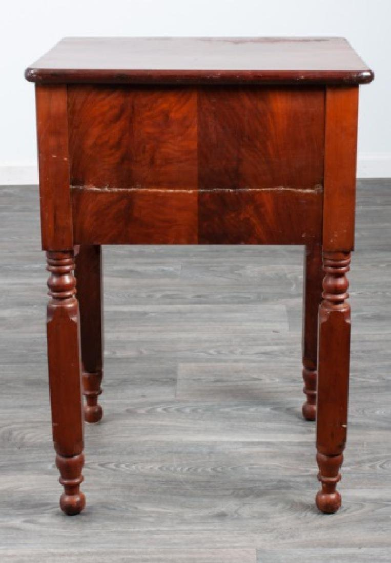 Mahogany Empire Two Drawer Stand - 6