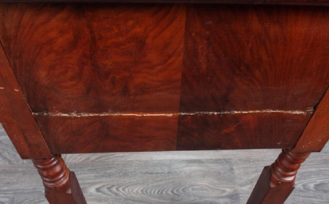 Mahogany Empire Two Drawer Stand - 7