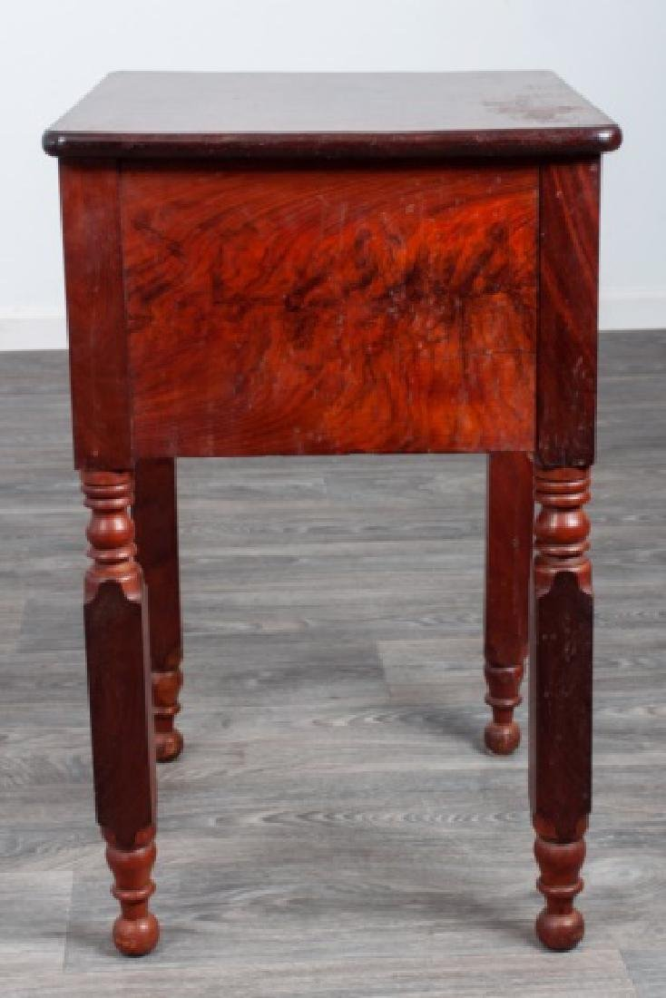 Mahogany Empire Two Drawer Stand - 8