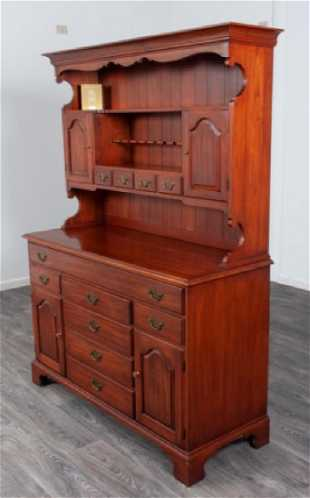 Henkel Harris Black Cherry Hutch