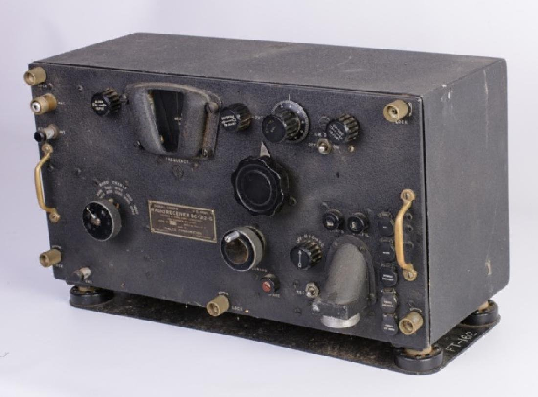 WWII Signal Corps Radio Receiver