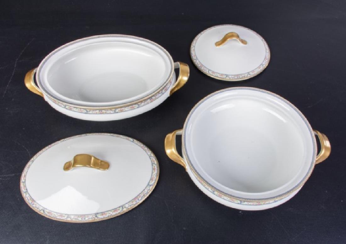 Theodore Haviland Limoges Partial Dinner Service - 8