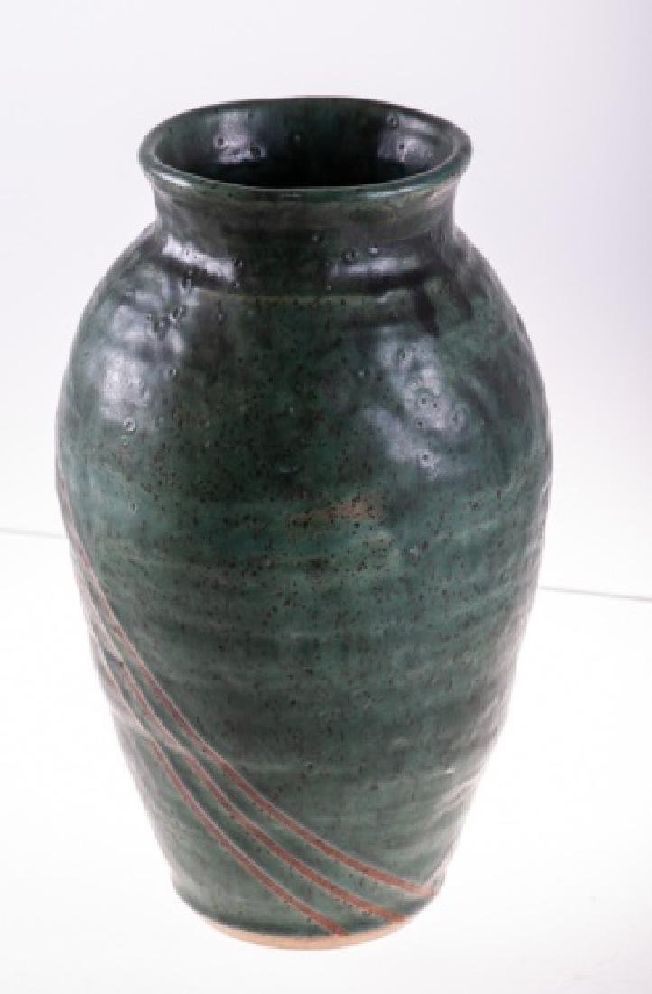 Art Pottery Vase, Signed