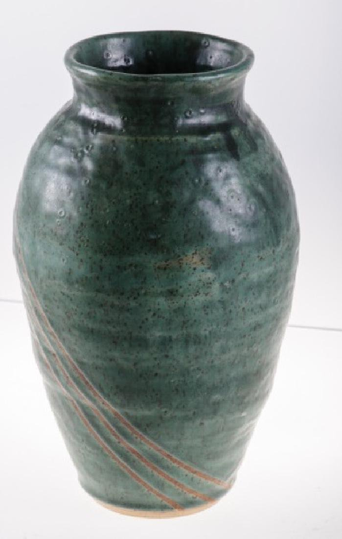 Art Pottery Vase, Signed - 2
