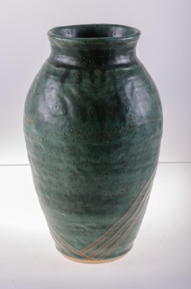 Art Pottery Vase, Signed - 8