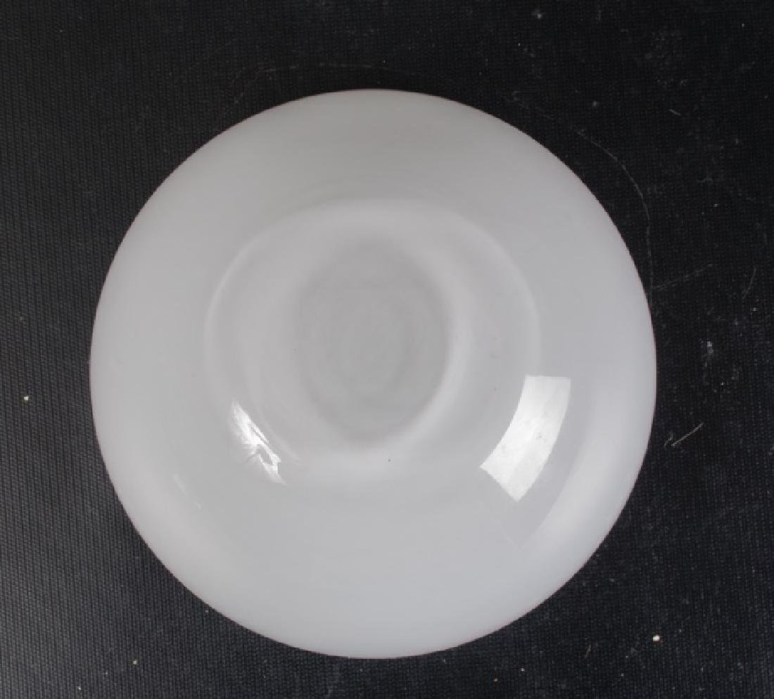 Cased Clear Over White Bowl - 3
