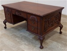 Victorian Style Mahogany Partners Desk