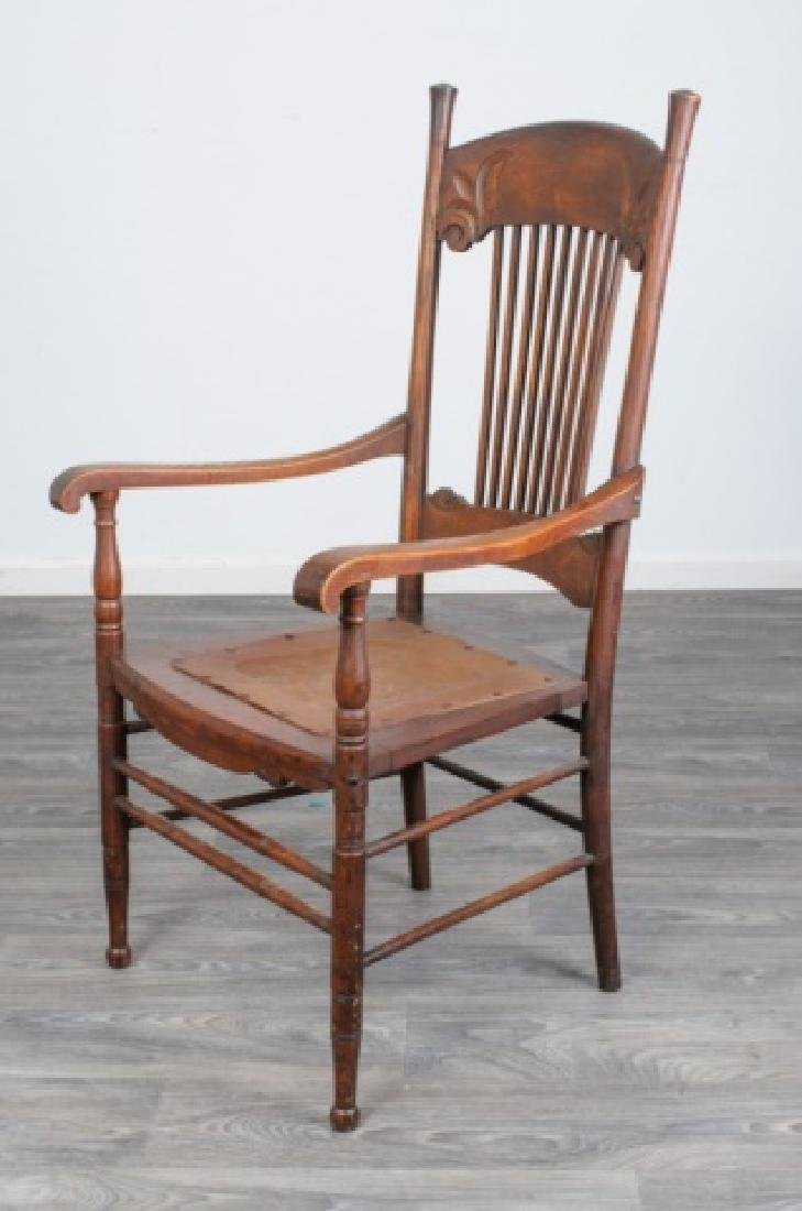 Spindle Back Arm Chair