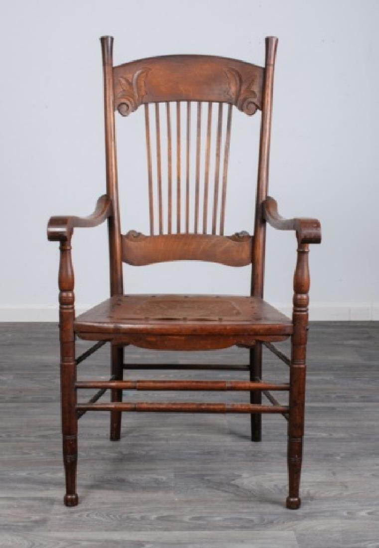 Spindle Back Arm Chair - 2