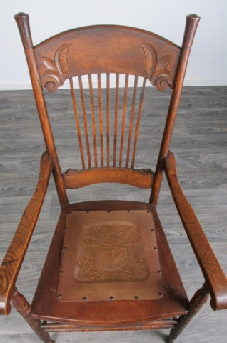 Spindle Back Arm Chair - 3