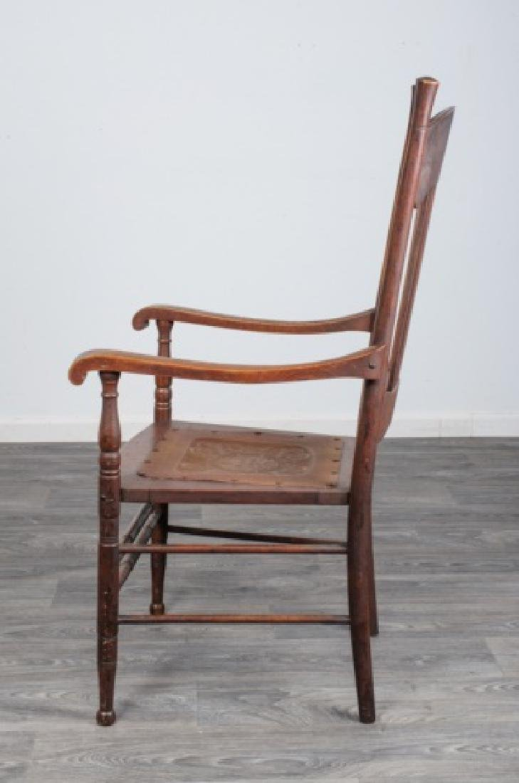 Spindle Back Arm Chair - 4
