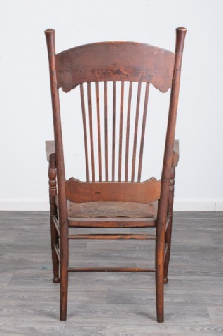 Spindle Back Arm Chair - 5
