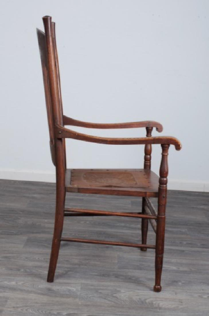 Spindle Back Arm Chair - 6