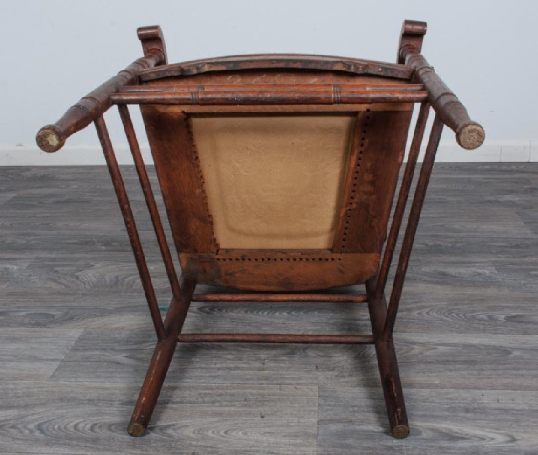Spindle Back Arm Chair - 8