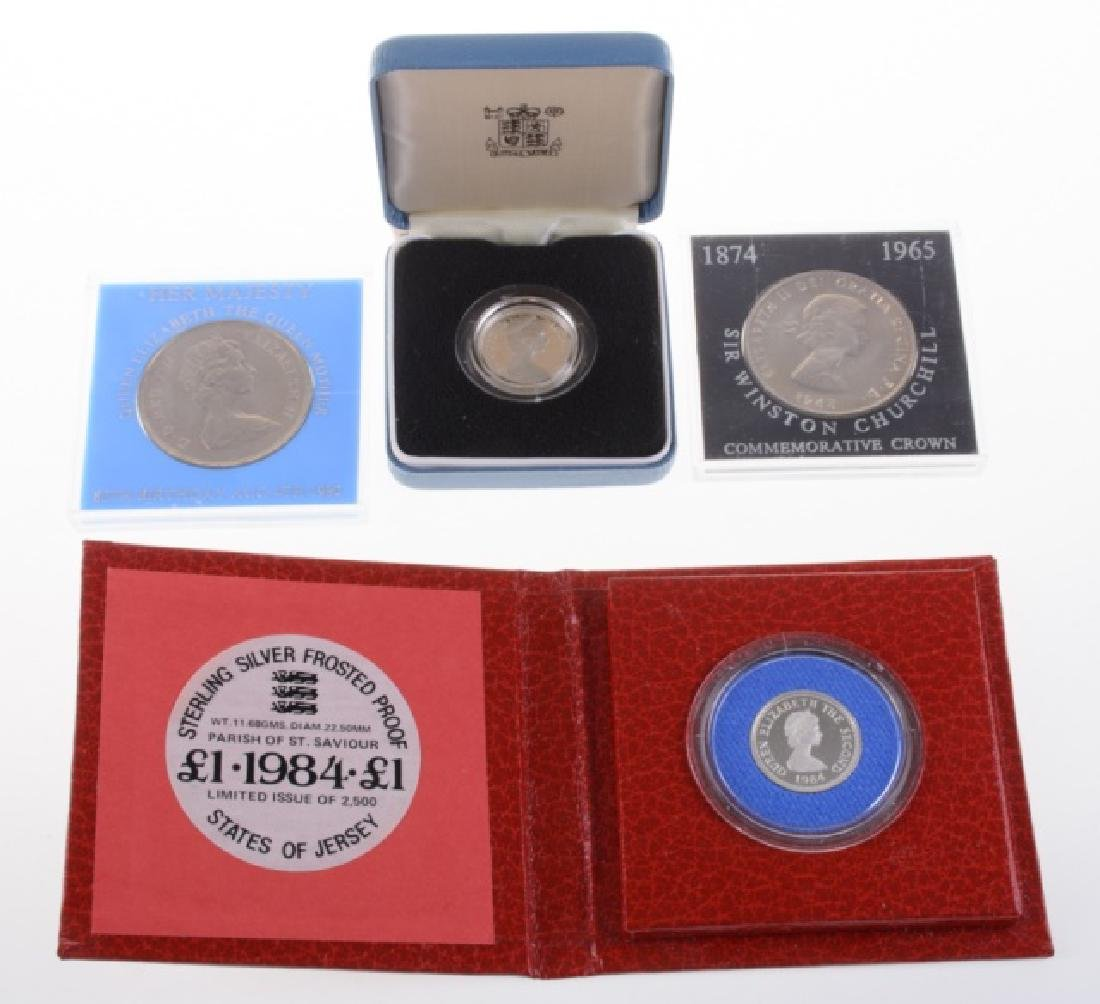 British & States of Jersey Coins