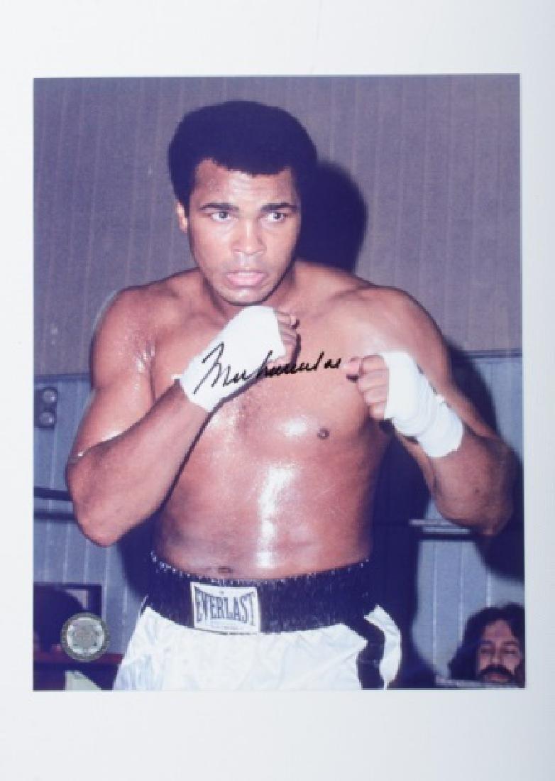 Muhammad Ali Autographed Photograph