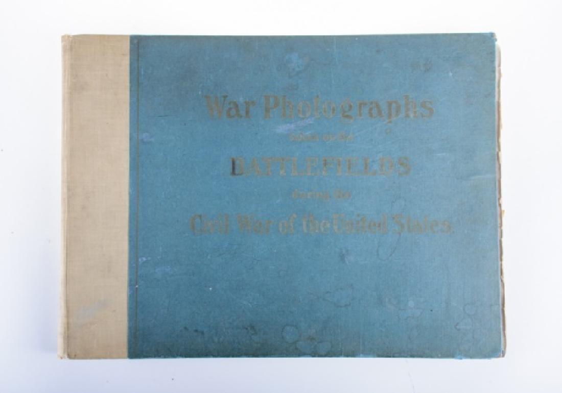 """""""War Photographs..Battlefields..Civil War..."""" 1907"""