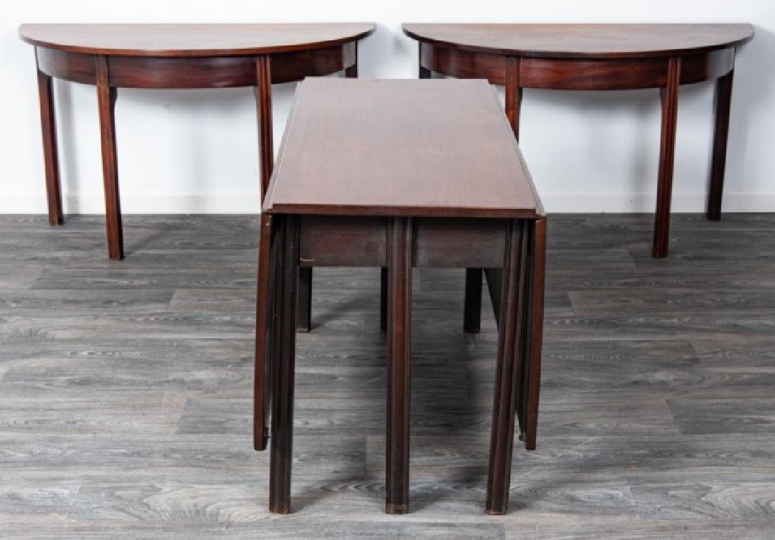 Mahogany Banquet Table - 4