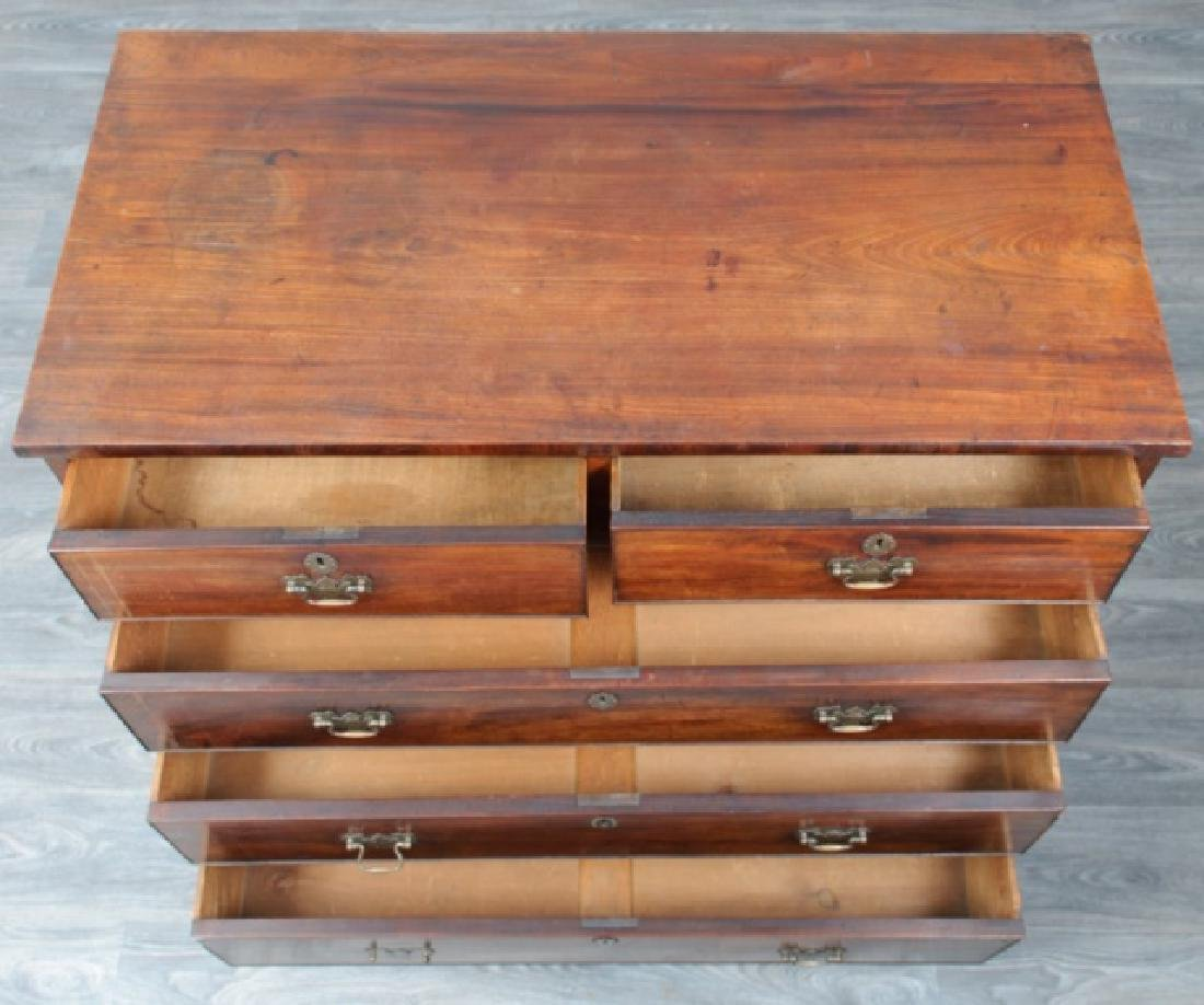 American Mahogany Chest of Drawers - 3