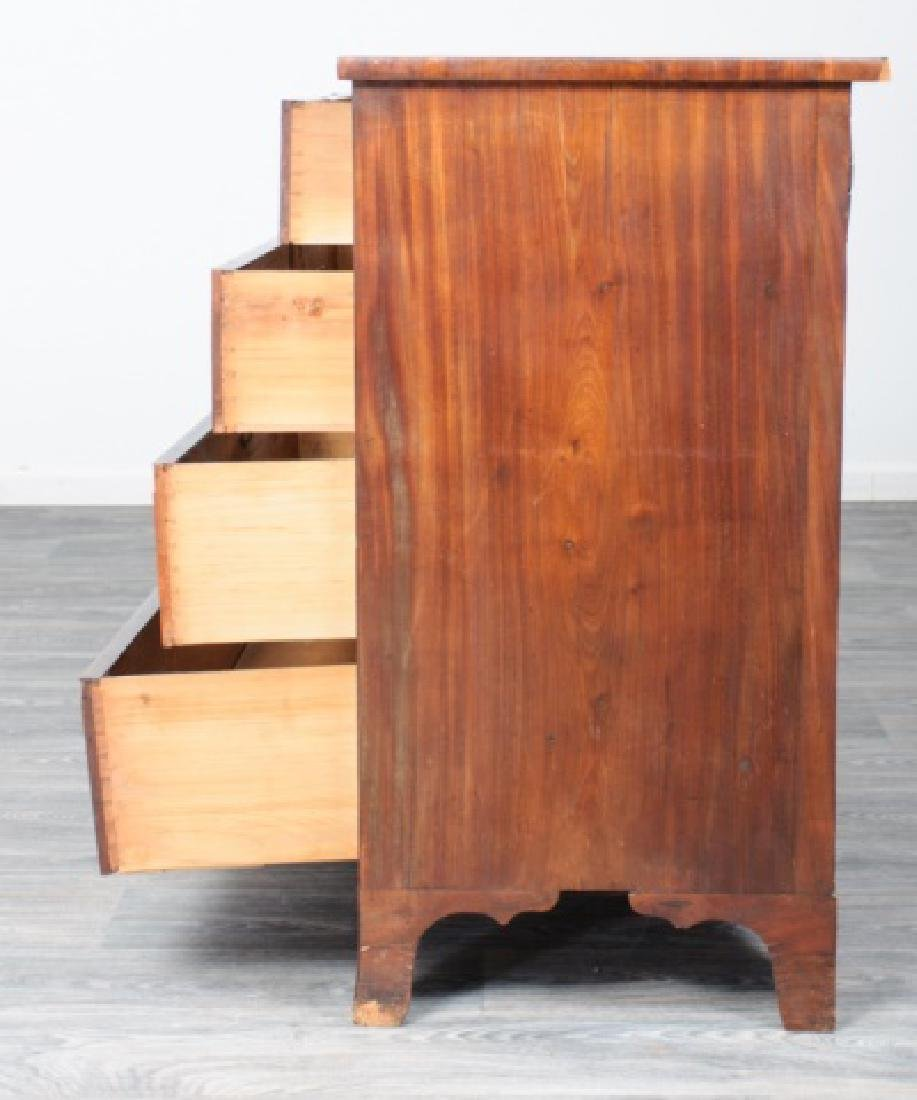 American Mahogany Chest of Drawers - 4