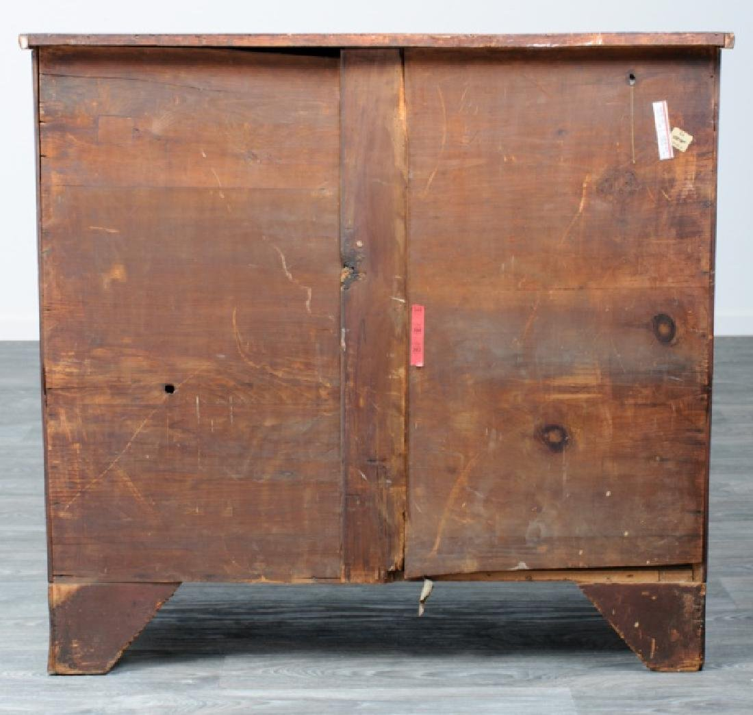 American Mahogany Chest of Drawers - 5