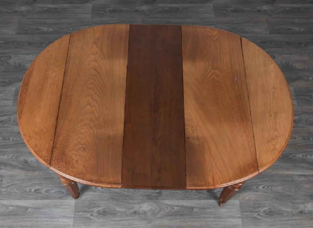 Chestnut Drop Leaf Dining Table - 3
