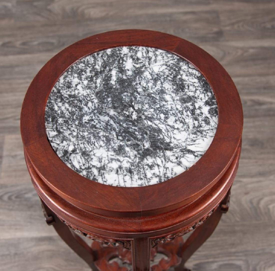 Marble Top Tall Stand - 2
