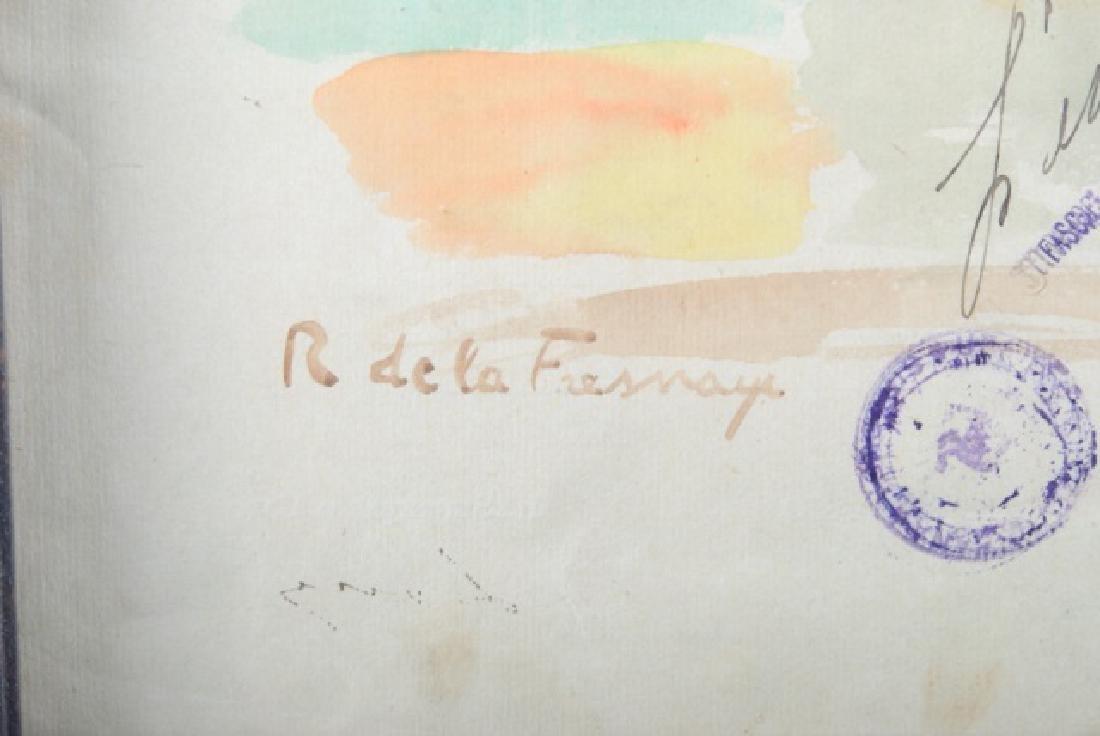 Roger de la Fresnaye Watercolor On Paper - 6
