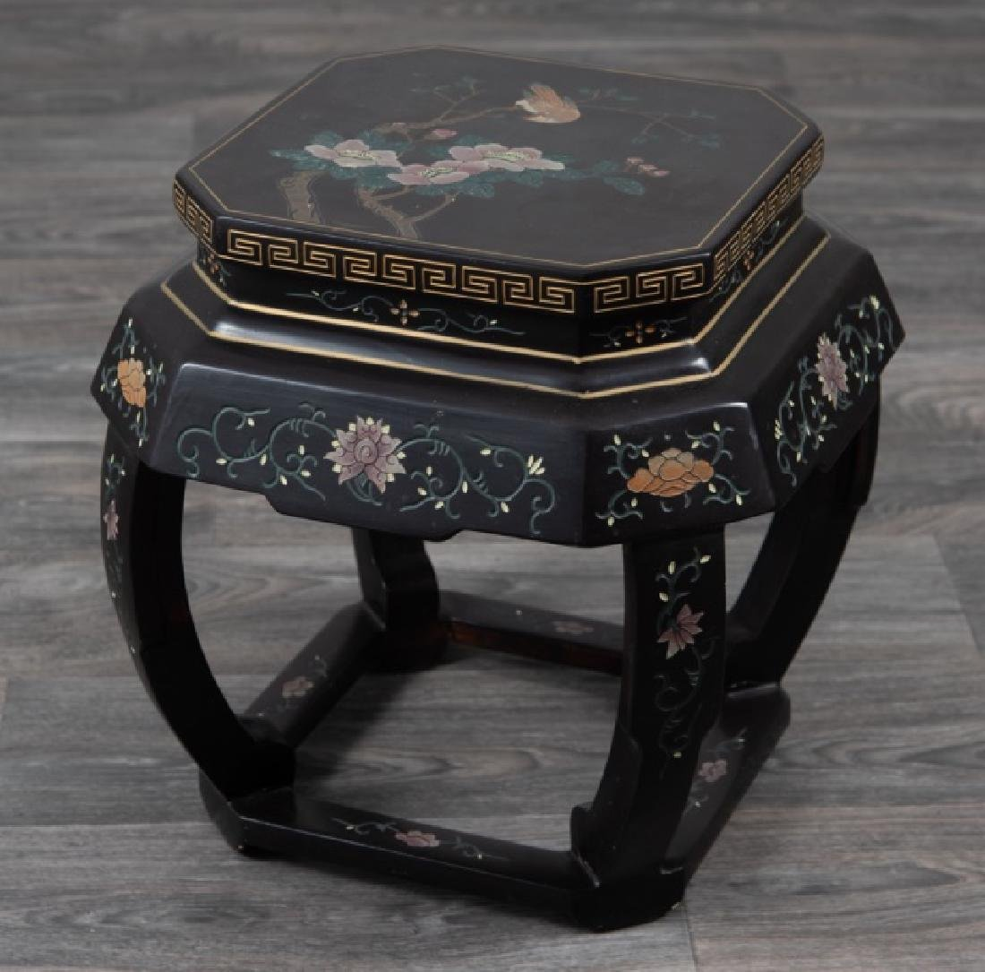 Asian Lacquered Stand