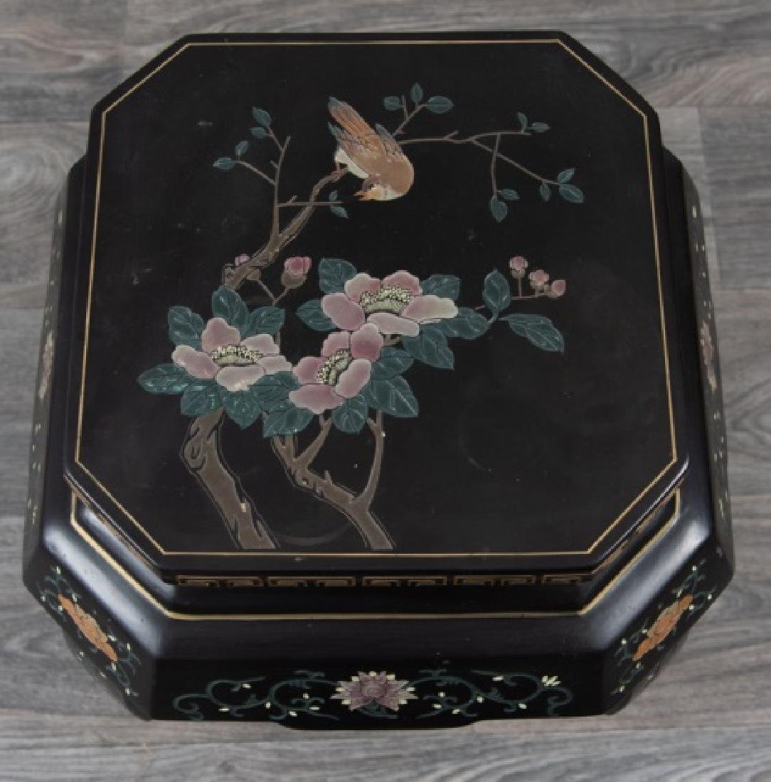 Asian Lacquered Stand - 2