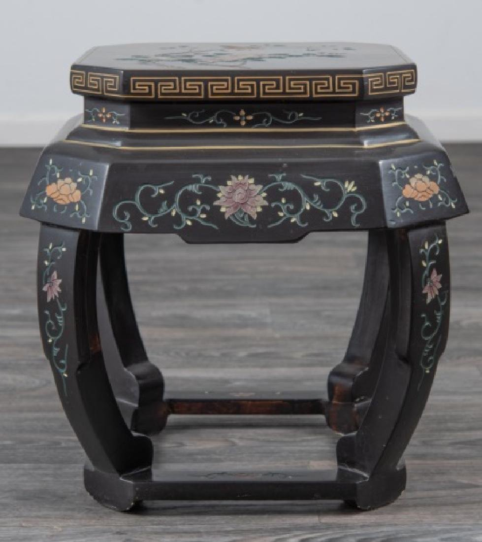 Asian Lacquered Stand - 3