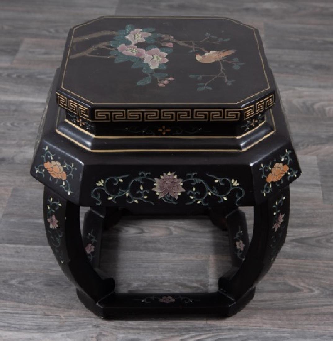Asian Lacquered Stand - 5