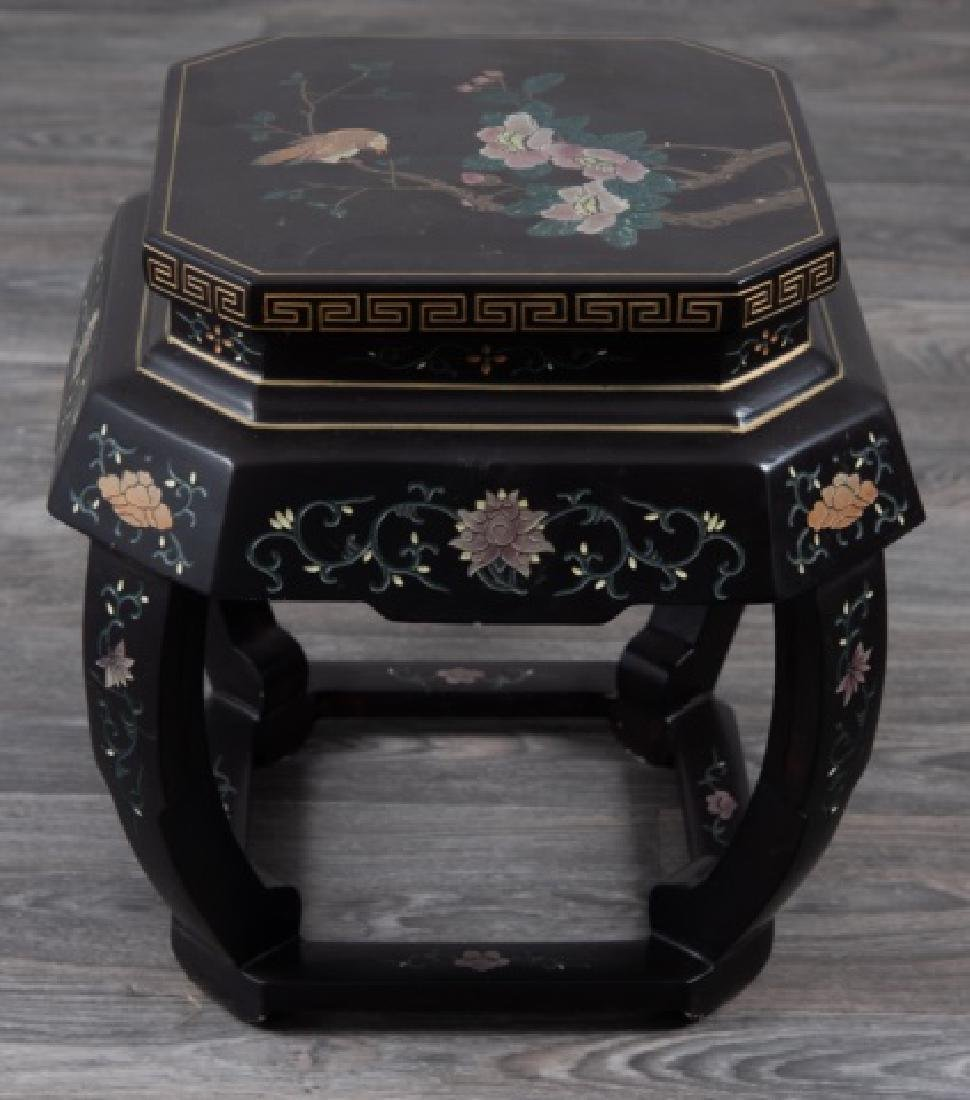 Asian Lacquered Stand - 7