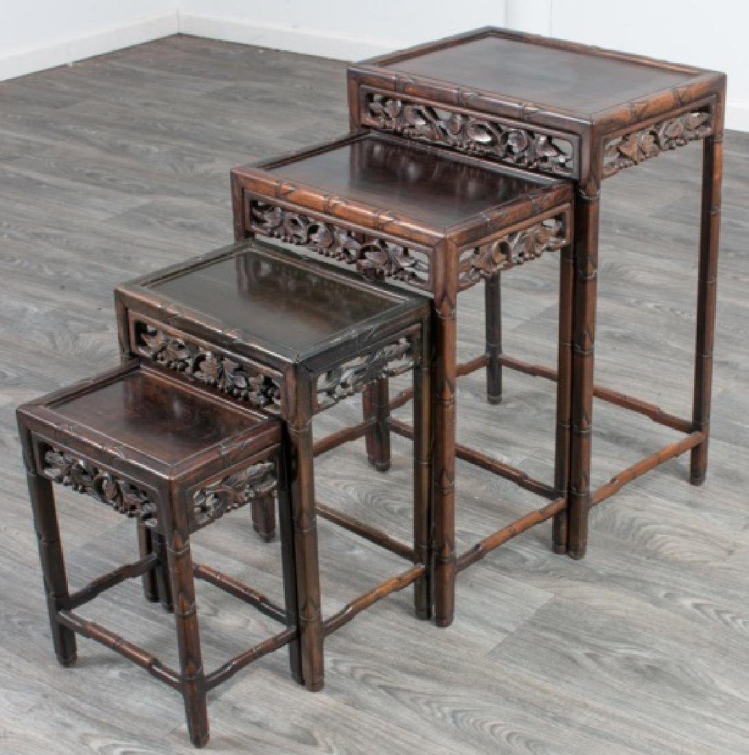 Chinese Nesting Tables - 2
