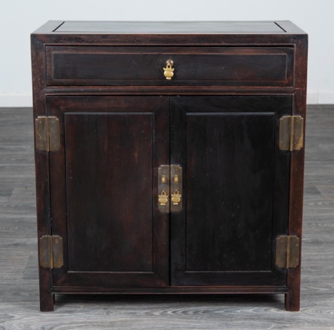 Ebonized Asian Style Cabinet - 2