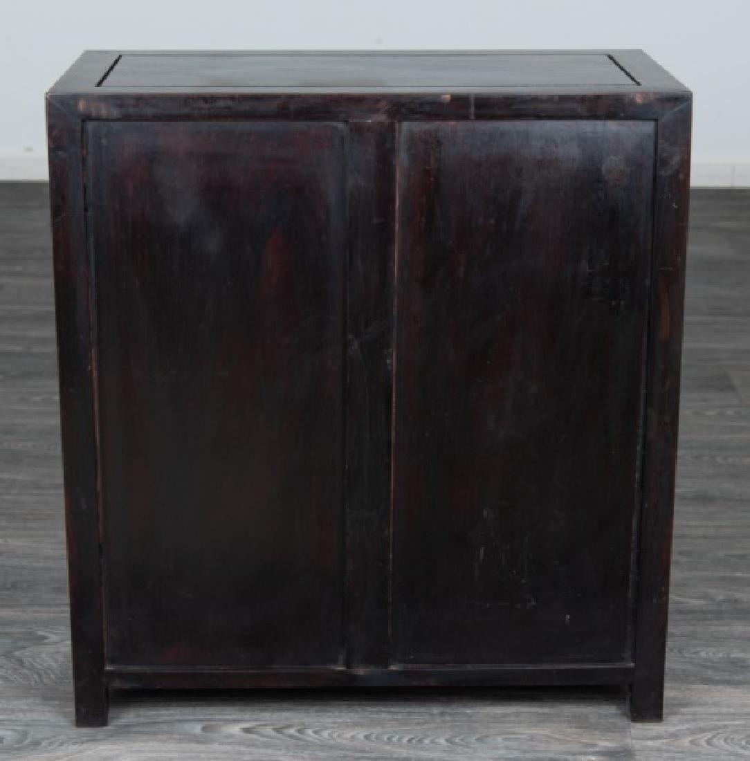 Ebonized Asian Style Cabinet - 6