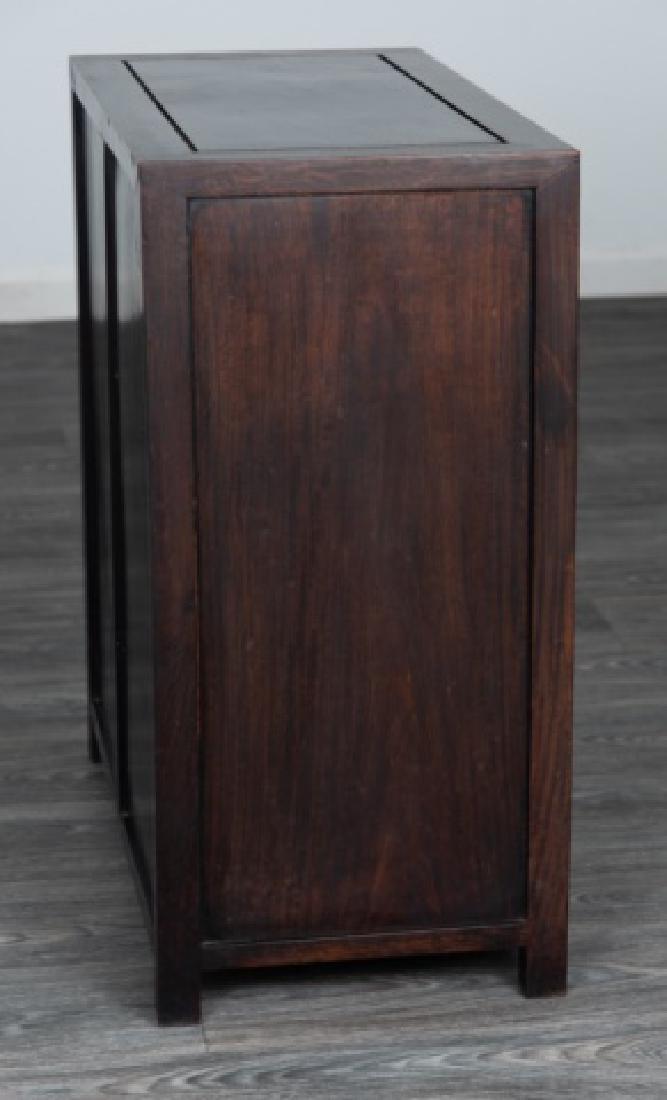 Ebonized Asian Style Cabinet - 7