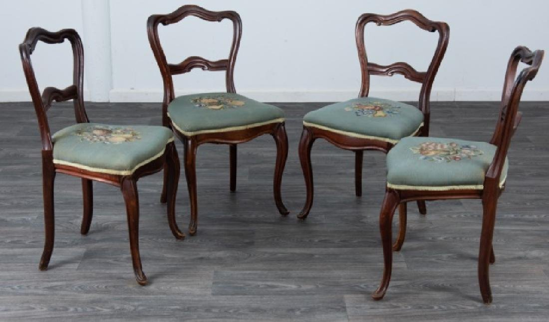 French Style Side Chairs Group