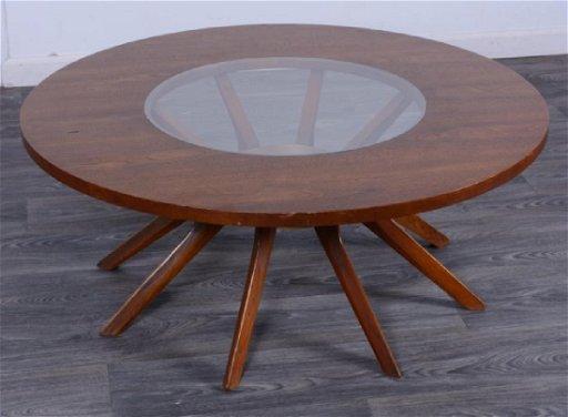 Tremendous Broyhill Brasilia Cathedral Coffee Table Uwap Interior Chair Design Uwaporg