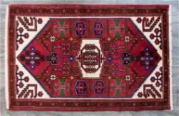 """Persian Hamadan 3'5"""" x 5'2"""" Mat"""