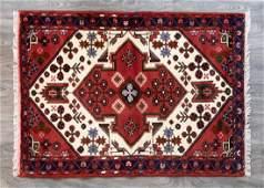 """Persian Hamadan 3'6"""" x 4'10"""" Mat"""