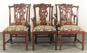 Maitland-Smith Chippendale Style Dining Chairs