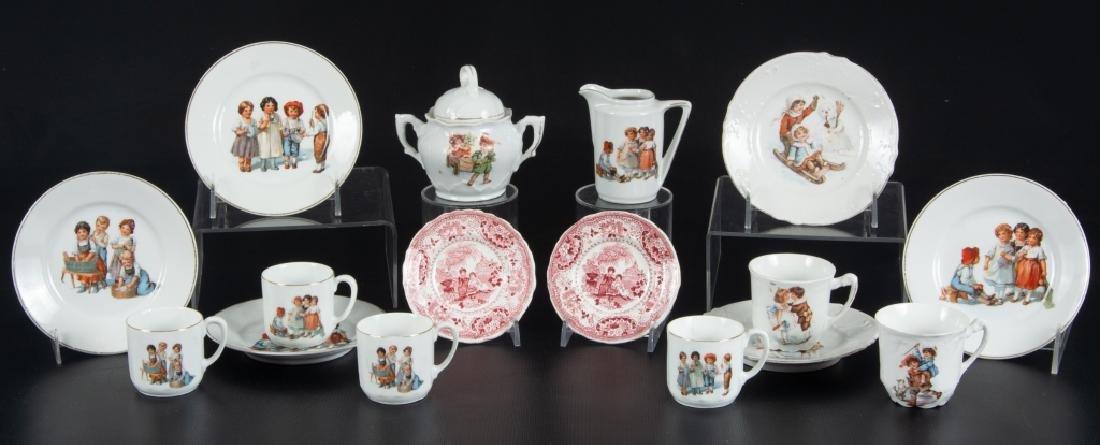 German Child's Partial Tea Set