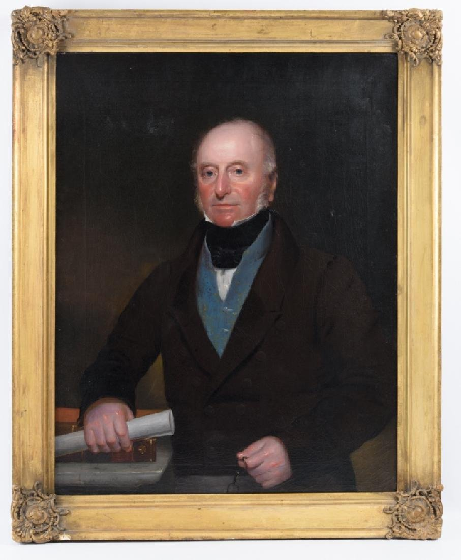 Early 19th Century Oil on Canvas Portrait