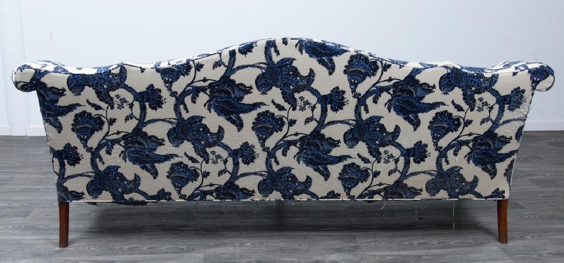 Chippendale Style Camelback Sofa - 8