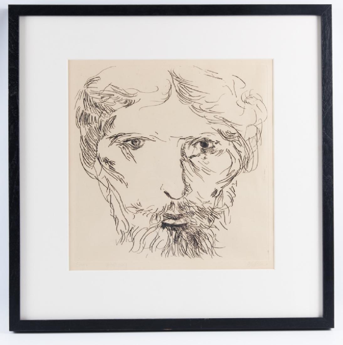 Leonard Baskin Artist's Proof Etching